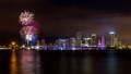 Miami Skyline on July 4th!