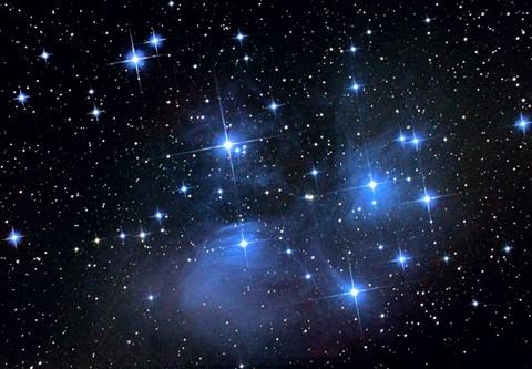 Pleiades M45 Pentax K5
