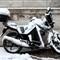 Snowy Motorbike