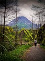Tracking to Mt. Merapi