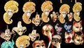 Carnival masks - Verona, Italy