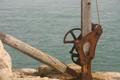 Rusty lifting gear