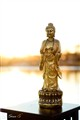 Gold Buddha on River of Enlightenment