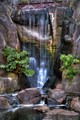 Waterfall at Stowe Lake