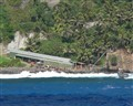 Pitcairn Islanders Leave the Adamstown Dock DPR