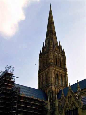 The tallest spire in England