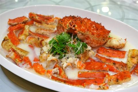 Alaskan King Crab Steamed In Chinese Wine Jeff Tan Galleries