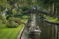 """The town of Giethoorn is also known as """"the Venice of the North"""", with lots of canals. A very popular tourist destination."""