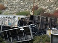 Coal train derailed in Spanish Fork Canyon, Utah