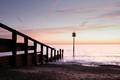 Sunrise over Slaughden, Aldeburgh