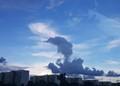 galloping cloud