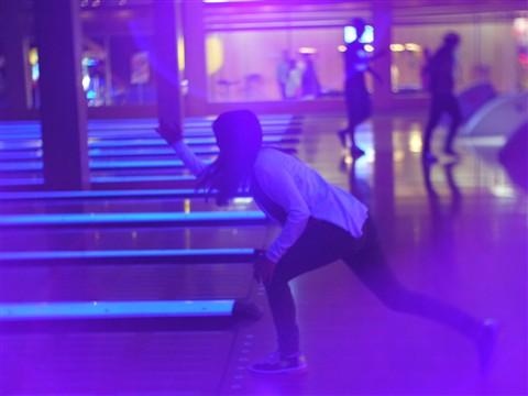 Purple Bowling
