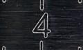 """Caliper 4"""" mark"""