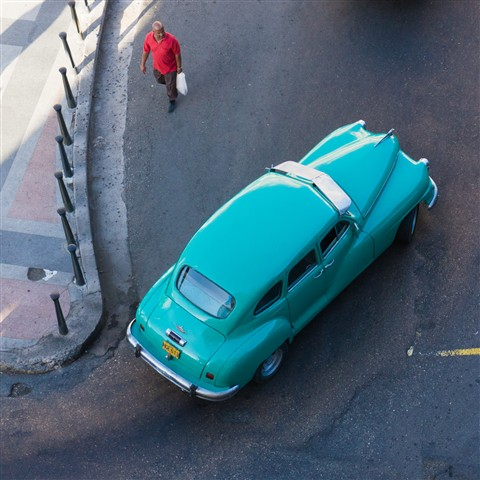 Modern Transportation in Havana