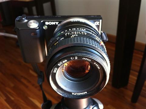 2. Nex + MD 50mm
