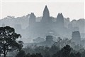 Angkor Wat in Morning Mist