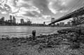 Enjoying the view - New York City