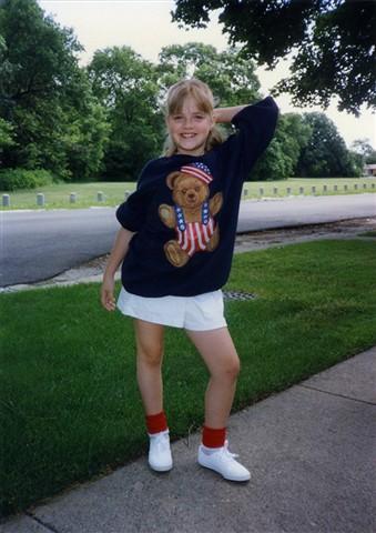 Kelly on July 4th, 1992