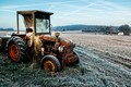 A Frosty Tractor