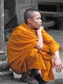 Young monk - Angkor Wat