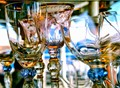murano goblets