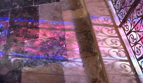 Stainedglass shadow