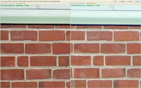 Max zoom comparison 1200mm vs 840mm