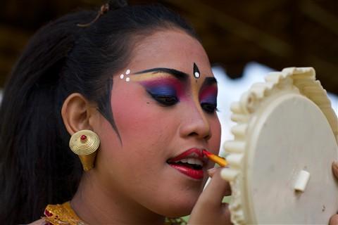 Bali Dancer's Make-up