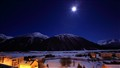 Moonlight on Samedan