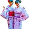 Girls-in-kimonos