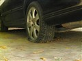 punctured wheel