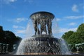 The Vigeland fountain, Oslo