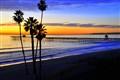 T Street Sunset,  San Clemente, Ca.