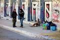 Talking on the street