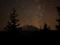 Mt. Rainier and the Milky Way