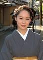 Beautiful Kyoto's girl in Kimono