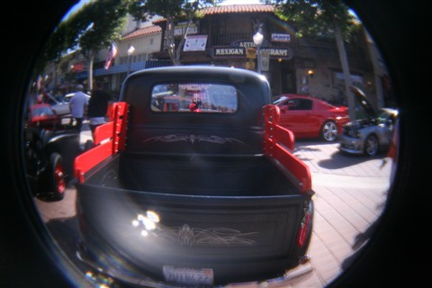 Flare from Holga Fisheye