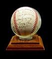 Autographed 1949 N.Y. Giants Baseball