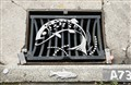 A 'grate' idea - Drain cover in Taupo, New Zealand