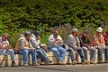 Construction Workers Lunchtime