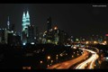 A night with KLCC and KL Tower
