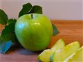 Peel a Granny Smith Apple...