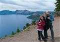 Grandkids at Crater Lake