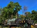 Old Steam Train in Kanchanaburi, Thailand