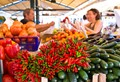 Venetie market stall