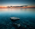 Lake Balaton at blue hour