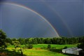 Rainbow on the Farm