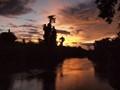 Kanchanaburi Sunset, Thailand