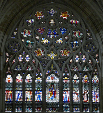 Exeter Cathedral - Main  Window