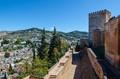 Alcazaba Alhambra, Granada, Spain